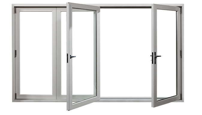 Animation Opening folding door
